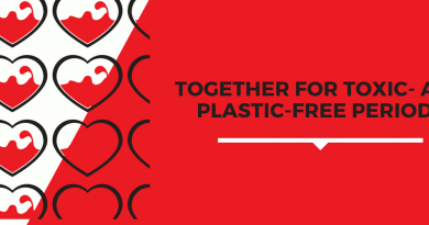 Together for toxic- and plastic free periods